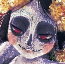 Muerte que contempla Vida, Vida que contempla muerte.. A Illustration project by Karla Zepeda         - 23.10.2017