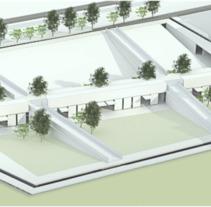 Concurso Plaza Universitaria. A 3D, Architecture, L, scape Architecture, and Post-Production project by Cesar Arroyo Noboa         - 10.09.2014