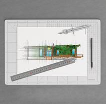 Brainstorming para la realización de un hogar prefabricado y sostenible. A 3D, Architecture, Graphic Design, Interior Architecture, and Vector illustration project by Jose Martinez Fernandez-Pacheco         - 24.10.2017