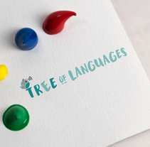 Imagen de marca: Tree of languages. A Illustration, Br, ing, Identit, Graphic Design, and Vector illustration project by Janire Orduna         - 25.10.2017