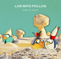 Los Mito Pollos. A Illustration, Photograph, Animation, Character Design, Editorial Design, and Character animation project by Verónica Paradinas Duro - 28-10-2017