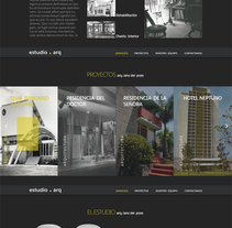 Diseño web para estudio de arquitectos Lanz del Pozo . A Graphic Design, and Web Design project by Tahimi Leon Bravo - 15-11-2016