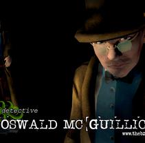 Detective Oswald Mc Guillicudy . Un proyecto de 3D de Javier García Gómez         - 01.11.2017