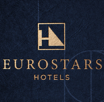 Eurostars Hotels. A Art Direction, Br, ing, Identit, Editorial Design, Graphic Design, Pattern design, and Signage design project by Iris Vidal         - 02.11.2017