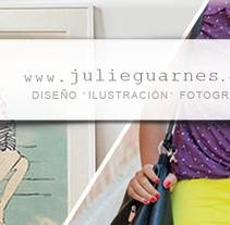 Visita mi portfolio.. Un proyecto de Dirección de arte de Julie Guarnes - 02-11-2017