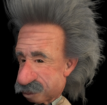 Einstein!. A Illustration, 3D, and Character Design project by Miguel A. López Estañol         - 07.03.2017