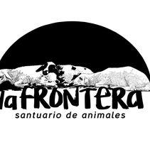 """Ilustración para diseño de camiseta para el santuario de animales """"La frontera"""". A Illustration project by Victoria Fdz-Oruña         - 07.11.2017"""