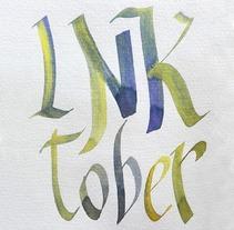 Inktober 2017. Un proyecto de Ilustración, Artesanía, Bellas Artes y Caligrafía de Amparo Saera         - 09.11.2017