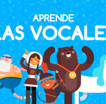 'Las vocales' (Parapachín). A Character animation project by Moncho Massé - 10-09-2015
