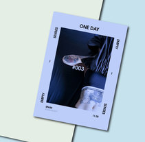 ONE DAY #003. A Photograph, Art Direction, and Editorial Design project by VONDEE  - 01-02-2017
