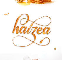 Haizea Eztia. A Lettering project by Haizea Dobaran Montes         - 16.03.2017
