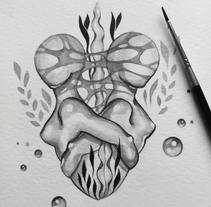 Inktober 2017. Un proyecto de Ilustración de Irene Gala - 17-11-2017