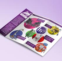 Tríptico ortopedia técnica. Un proyecto de Dirección de arte, Br, ing e Identidad, Diseño editorial y Diseño gráfico de Ventura Peces-Barba         - 22.11.2017