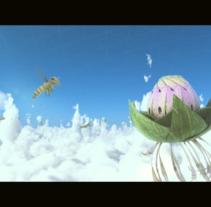 Floración. Um projeto de Motion Graphics, Cinema, Vídeo e TV, 3D, Animação, Multimídia, Vídeo, VFX e Animación de personajes de Carlos González Olmos         - 30.11.2017