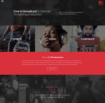 Live TV broadcast site. A Web Design project by Six Design - 04-12-2017