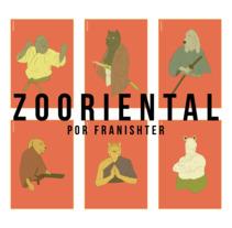 ZOOriental. Un proyecto de Ilustración, Diseño de personajes y Diseño gráfico de Fran Ceballos - 06-12-2017