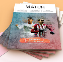 Match Magazine. A Design, and Editorial Design project by Alba Mª Beltrán Calvo         - 10.12.2017