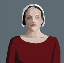 The handmaid´s tale. A Illustration project by inmaculada fernandez         - 17.12.2017