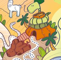 Actividades Terra Natura. Un proyecto de Ilustración, Diseño de juegos y Diseño gráfico de Laura García Mañas         - 18.12.2017