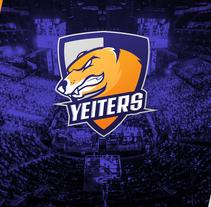 Yeiters E-sports logo. Um projeto de Design gráfico de Iván Soso         - 22.12.2017