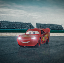 Rayo McQueen en el circuito. A Photograph project by David Fuentes - 14-01-2018