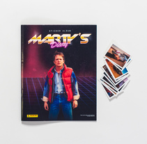 Marty McFly Sticker Album. A Film, Video, TV, Editorial Design, and Graphic Design project by Javitxu Otazu Salvatierra         - 15.03.2015