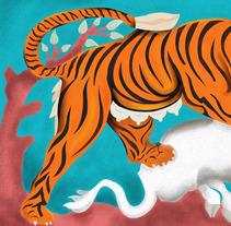 Tigre del capitolio romano. Un proyecto de Ilustración de Belén  - 26-01-2018