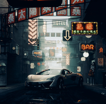 el Proyecto del Curso.. A Software Development, 3D, Architecture, Lighting Design, Post-Production, Street Art, and VFX project by Ro Bot - 26-01-2018