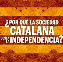 Brochure - ¿Por qué la sociedad Catalana desea la independencia?. Un proyecto de Diseño editorial y Diseño gráfico de Rodrigo Alfaro         - 27.01.2018