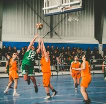 Final de la Copa Asturias organizada por Aviles Sur entre Oviedo Baloncesto y Gijon Arbeyal. Um projeto de Fotografia de coudlain         - 04.02.2018