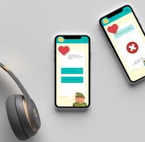 App Símbolos Nacionales - IEEE. Un proyecto de Diseño interactivo y Diseño Web de Pamela Pons Saez         - 06.01.2017