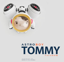 AstroBoy::Tommy  / Creación de personajes. A Illustration, 3D, Art Direction, Character Design, Graphic Design, and Digital retouching project by Guillermo  Amengual Garrido - 06-02-2018