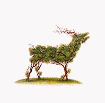 """De la tierra"" Dibujos de doble sentido (técnica mixta). Um projeto de Artes plásticas de Adrián Pereda Pascual         - 07.02.2018"