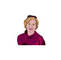 My grandma. Un proyecto de Ilustración vectorial de Sara Caride Carrera         - 31.01.2018