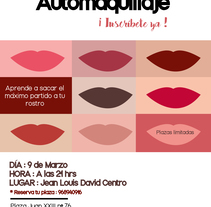 Taller de Automaquillaje. A Design, Advertising, and Graphic Design project by María Mancha         - 20.02.2018