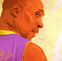 KOBE. A Illustration, and Vector illustration project by Carlos Vicente Aparici         - 22.02.2018