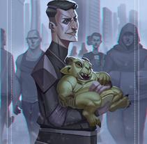 - C A L A M I T Y -. A Illustration, Character Design, and Comic project by Juan David Muñoz Rico         - 25.02.2018