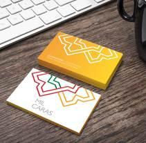 Exposición Mil Caras: Diseño de logotipo y piezas de promoción. A Br, ing, Identit, and Graphic Design project by Ana Paniagua         - 28.02.2013