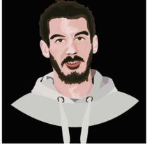 Illustrator portaits. Um projeto de Ilustración vectorial de Cintia Ortuño Agustí         - 05.03.2018
