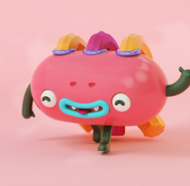 Mascota. A 3D, and Character Design project by Arnold Escorcia         - 06.03.2018