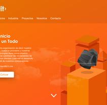 B1t website redesign. Un proyecto de UI / UX y Diseño Web de Derck Michel         - 07.03.2018