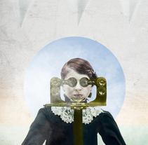 Optica. Um projeto de Design gráfico e Colagem de Pilar Santiño         - 09.03.2018