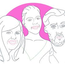 Encargo personalizado. A Illustration, Fine Art, and Vector illustration project by Alejandra Pérez Pire         - 15.12.2017