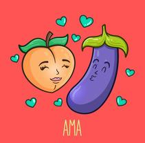 Ama como quieras. A Vector illustration project by Diana Maria Cuevas         - 11.03.2018