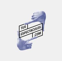 tusespectaculos.com. A Graphic Design project by CREATIAS | diseño y comunicación         - 12.03.2018