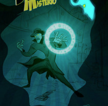 Detective Misterio ( paginas dobles modo lectura). A Design, Illustration, Advertising, Motion Graphics, Film, Video, TV, Animation, Art Direction, Character Design, Crafts, Fine Art, Game Design, Graphic Design, Multimedia, Product Design, To, Design, Comic, Production, and Character animation project by freddy navarro         - 13.03.2018