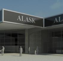 Propuesta diseño para comercio. A Architecture project by Fernando Rosa Belmonte         - 14.03.2018