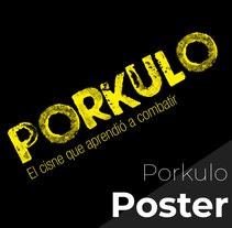 Póster Porkulo. A Graphic Design project by javierdiaz_jpg         - 14.03.2018