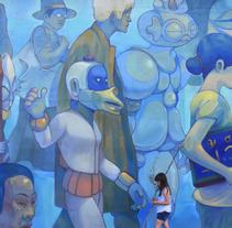 Inmigrantes. A Painting project by Jesús Benítez (Dhear)         - 15.03.2018