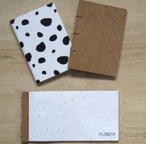 Técnicas de Encuadernación DIY - Dossier, Libreta y Cuaderno de apuntes. A Paper craft project by Paula Monmeneu Ruiz         - 22.11.2017